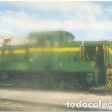 Postales: POSTAL DE TRENES. TRACTOR DIESEL 305-001-9. CONST. YORKSHIRE ENGINE. Nº 118 P-TREN-1893 . Lote 97268919