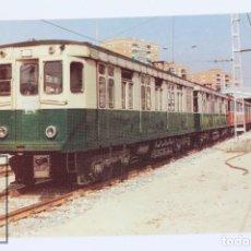 Postales: POSTAL - Nº 549 SUBURBANO DEL MERTO DE MADRID Nº M-1024 LÍNEA PL. ESPAÑA-ALUCHE - 1980 - EUROFER. Lote 254746095