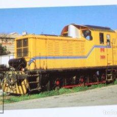 Postales: POSTAL DE TREN - Nº 606 AZVI TRACTOR DIÉSEL ELÉCTRICO 10393 EX 303.093- SAGRERA 1998 - EUROFER. Lote 111743662
