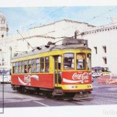 Postales: POSTAL - Nº 633 TRANVÍA DE LISBOA CARRIS Nº 353- PALACIO DE LOS JERÓNIMOS 1995- COCACOLA - EUROFER. Lote 179126998