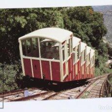 Postales: POSTAL DETREN - Nº 700 FUNICULAR DE LA SANTA COVA, MONTSERRAT -AÑO 1999 - EUROFER. Lote 178833757
