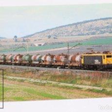 Postales: POSTAL DE TREN- Nº 724 MERCANCIAS 2000 / LOCOMOTORA 289.039-2 - MIRANDA DE EBRO 1999 - EUROFER. Lote 194544638