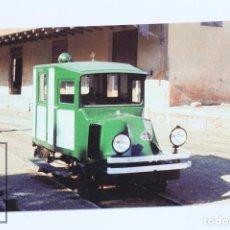 Postales: POSTAL - Nº 919 F.C PALMA-SOLLER AUTOMOBIL RENAULT ADAPTADO PARA INSPECCIÓN DE LÍNEA - EUROFER. Lote 109219998