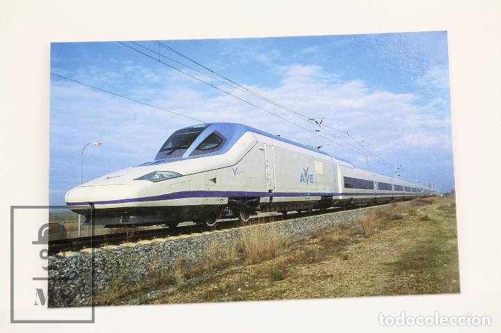 POSTAL DE TREN- Nº 970 TREN DE A.V S/102 - LA SAGRA, TOLEDO - EUROFER (Postales - Postales Temáticas - Trenes y Tranvías)