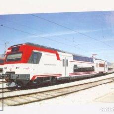 Postales: POSTAL DE TREN - Nº 998 NUEVA IMÁGEN DE LA OPERADORA RENFE SERIE 450 - MADRID, FUENCARRAL - EUROFER. Lote 115633602