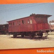 Postales: POSTAL - VAGON COCHE 3ª CLASE C-2302 VILANOVA I LA GELTRU 1972 - NO CIRCULADA - EUROFER. Lote 99457987