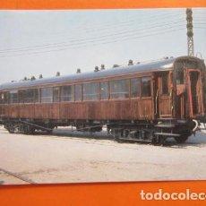 Postales: POSTAL - VAGON COCHE 1ª CLASE EX NORTE VILANOVA I LA GELTRU 1972 - NO CIRCULADA - EUROFER. Lote 99458023