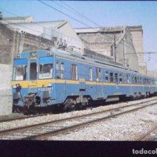 Postales: TRENES-V42-NO ESCRITA-Nº134-UNIDAD ELECTRICA 440-CERCANIAS Y REGIONALES-BARCELONA 1986. Lote 99500811