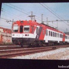 Postales: TRENES-V42-NO ESCRITA-Nº380-UNIDAD 440-ESTACION BARCELONA-SANT ANDREU-1992. Lote 99501395