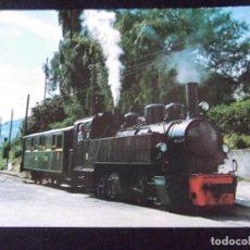 Postales: TRENES-V42-NO ESCRITA-CHEMIN DE FER TOURISTIQUE BLONAY-CHAMBY-1968. Lote 99502203