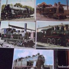 Postales: TRENES-V42-LOCOMOTORAS-FOTOS-SIN DIVIDIR-SIN DATOS-NO ESCRITAS. Lote 99503571