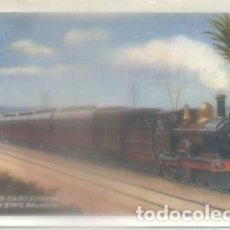 Postales: POSTAL DE TRENES. ALEXANDRIA-CAIRO EXPRESS. EGYPTIAN STATE RAILWAYS P-TREN-1952,5. Lote 139619253