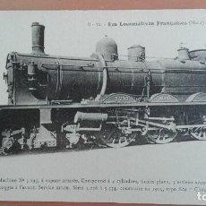 Postales: POSTAL TRENES Nº 10 LES LOCOMOTIVES FRANCAISES (NORD) MACHINE Nº 3293 ED F. FLEURY, PARIS. Lote 100890403