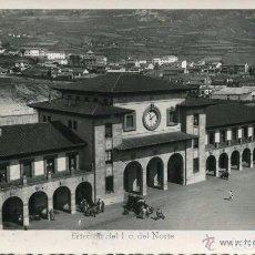 Postales: OVIEDO-ESTACIÓN DEL FERROCARRIL DEL NORTE-ARRIBAS-34-RARA. Lote 103999983