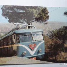 Postales: POSTAL BARCELONA TIBIDABO FUNICULAR. Lote 107829267