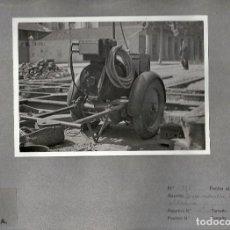 Postales: TRANVIAS DE BARCELONA.GRUPO DE CORRIENTE PARA SOLDADURA.. Lote 108444327