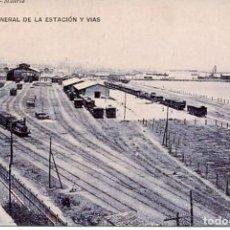 Postales: CÁDIZ-VISTA GENERAL ESTACIÓN FERROCARRIL- REPRO-2000. Lote 109060775