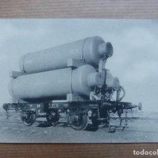 Postales: S.E. DE C.N. - MATAGORDA, CADIZ - VAGON DEPOSITO DE GAS. Lote 109234911