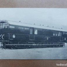 Postales: S.E. DE C.N. - SESTAO Y NERVION, BILBAO - COCHE PARA LA DIRECCION GENERAL DE CORREOS. Lote 109235215