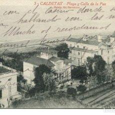 Postales: CALDETAS-FERROCARRIL-PLAYA --ROISIN Nº 5. Lote 109323319