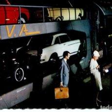 Postales: FERROCARRIL TRANSPORTE DE COCHES- FRANCIA. AÑO 1966. Lote 109559087