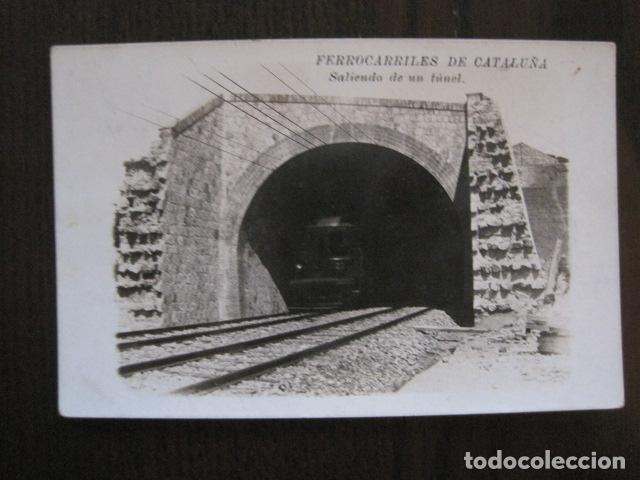 Postales: FERROCARRILES DE CATALUÑA - SALIENDO DE UN TUNEL - CIRCULADA - POSTAL ANTIGUA - VER FOTOS -(51.646) - Foto 3 - 110572387