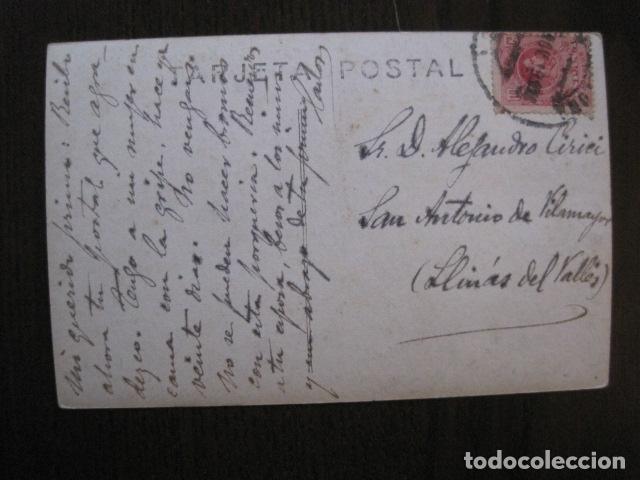 Postales: FERROCARRILES DE CATALUÑA - SALIENDO DE UN TUNEL - CIRCULADA - POSTAL ANTIGUA - VER FOTOS -(51.646) - Foto 4 - 110572387