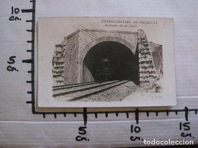 Postales: FERROCARRILES DE CATALUÑA - SALIENDO DE UN TUNEL - CIRCULADA - POSTAL ANTIGUA - VER FOTOS -(51.646) - Foto 5 - 110572387