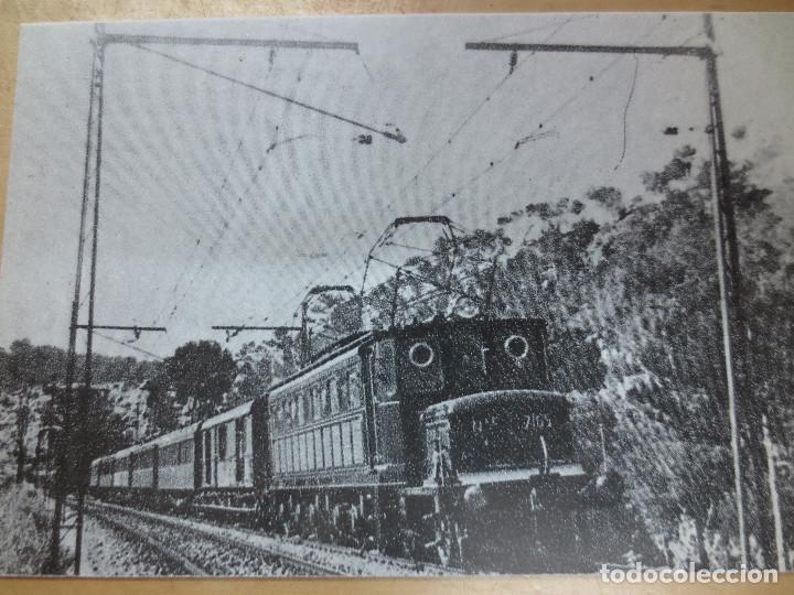 TARJETA POSTAL EDITREN N-43 TREN DE VIAJEROS (Postales - Postales Temáticas - Trenes y Tranvías)