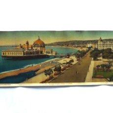 Postales: FOTOGRAFÍA ANTIGUA NIZA, CÔTE D'AZUR PANORAMIQUE 1900. TAMAÑO: 57 X 22 CM. Lote 53565390