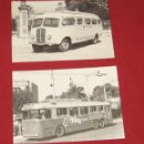 Postales: LOTE 2 POSTALES - AUTOBUS -TROLEBUS - EUROFER AMICS DEL FERROCARRIL. Lote 144946332