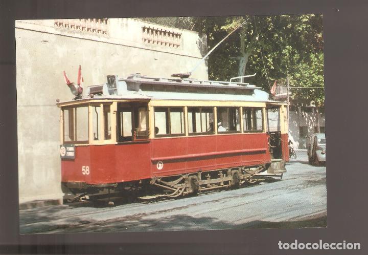 POSTALES DE TRENES Y TRANVIAS 018 (Postales - Postales Temáticas - Trenes y Tranvías)
