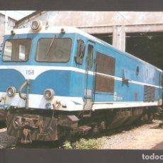 Postales: POSTALES DE TRENES Y TRANVIAS 032. Lote 114204699