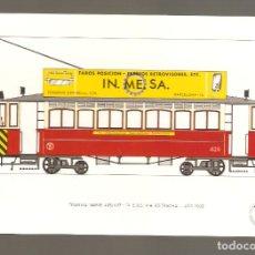 Postales: 1 POSTAL DE TRENES O TRANVIAS 127. Lote 116092259