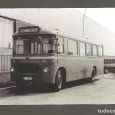Postales: 1 POSTAL DE TRENES O TRANVIAS BOMBEROS BARCELONA 137. Lote 116108675