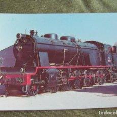 Postales: TARJETA POSTAL RENFE, LOCOMOTORA 1400 MZA. Lote 118013591