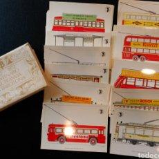 Postales: COLECCION COMPLETA DE 56 POSTALES CENTENARIO DEL TRANVIA EN BARCELONA 1872 1972. Lote 119263742