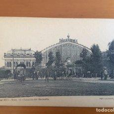 Postales: POSTAL MADRID - ESTACIÓN DEL MEDIODÍA - FOT LAURENT. Lote 120048307