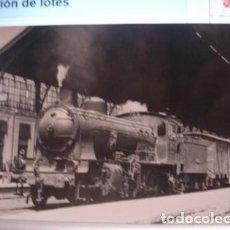 Postales: LOCOMOTORA DE VAPOR SERIE 130-2112 Y 21142/2120. Lote 120534315