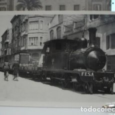 Postales: LOCOMOTORA VAPOR Nº1 TORTOSA LA CAVA (FESA)- PORTAL DEL COL·LECCIONISTA *****. Lote 120534891