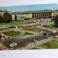 Postales: POSTAL - AUSTRIA - VIENNA VIENNE - GREAT WESTERN TERMNUS -TRANVIAS. Lote 120642923
