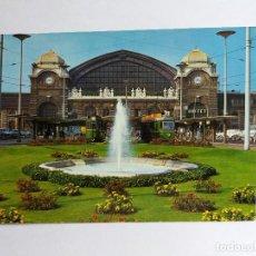 Postales: POSTAL - BASEL - BUNDESBAHNHOF CENTRALSTATION - GARE FEDERALE - TRANVIAS. Lote 120645451