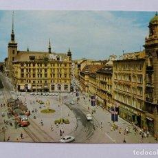 Postales: POSTAL - REPÚBLICA CHECA - BRNO - PLAZA DE LIBERTÉ - TRANVIA. Lote 120918227