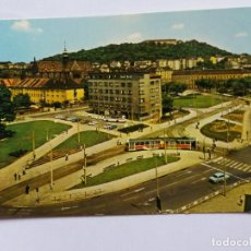 Postales: POSTAL - REPÚBLICA CHECA - BRNO - PLAZA DE MENDEL - TRANVIA. Lote 120919699