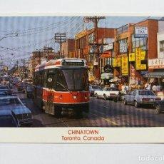 Postales: POSTAL - CANADÁ -TORONTO BARRIO CHINO - TRANVIA. Lote 120923075