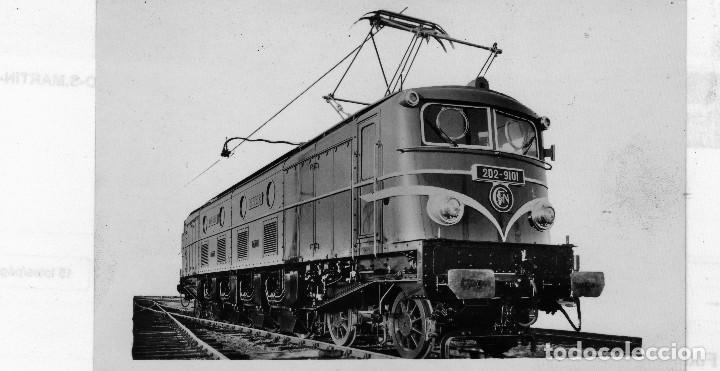 2 Postales Diferentes De Locomotoras De Vapor Y Electrica Originales En Blanco Y Negro Bonitas