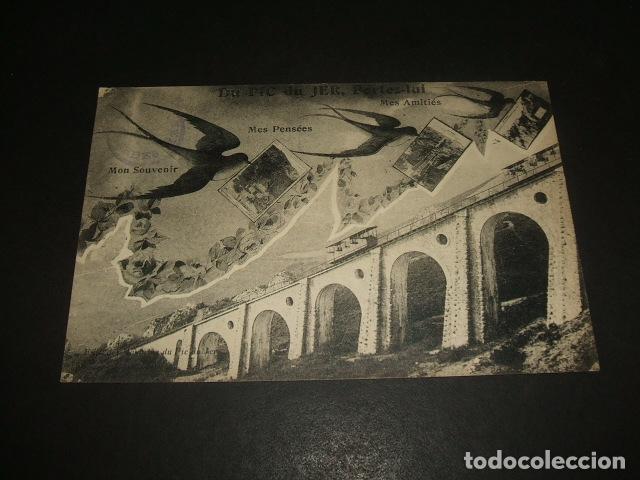 FUNICULAR FERROCARRIL POSTAL (Postales - Postales Temáticas - Trenes y Tranvías)
