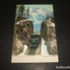 Postales: BRUNIGBAHN TREN FERROCARRIL POSTAL. Lote 128389059