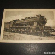 Postales: FERROCARRILES ESPAÑOLES LOCOMOTORA GARRAT 1 4 1 PARA EL F C CENTRAL DE ARAGON. Lote 128487771