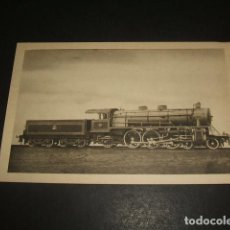 Postales: FERROCARRILES ESPAÑOLES LOCOMOTORA PACIFIC 2 3 1 DE M Z A 1920. Lote 128487807